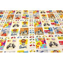 VPGW02 - Vespa gift card multicolor 70x100 cm