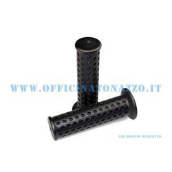 01677 - Par de pomos negros Ø 24 mm para Vespa PK 50 HP - V (Rif.orginale Piaggio 274489)
