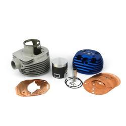 Cylindre Parmakit 57400.00cc TSV Ø177 course 63mm bougie latérale aluminium avec booster d'échappement pour Vespa PX