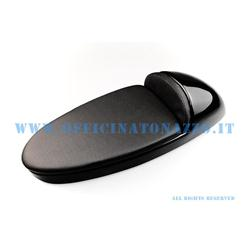 Single seat racing model in black ABS with opening lever and cushion for Vespa 0694 - Primavera - ET50