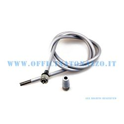 Complete odometer transmission with ring nut connection, 163631920mm rope for Vespa 2,0 GL 150 - GS 1965 VS150> 1