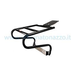 09285 - Porte-coffre arrière noir Vespa PX - PE (excellent avec coffre SHAD)