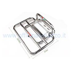 01505 / C - Faco chromed rear luggage rack for Vespa LX