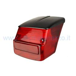 SIEM rear light complete with black roof gasket for Vespa GTR - TS - Sprint Veloce - Sprint 0118590> - 180/200 Rally