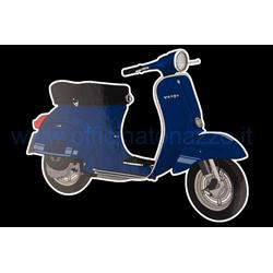 "70066930 - ""VESPA ET3 Primavera"" sticker, l = 105mm, w = 85mm"