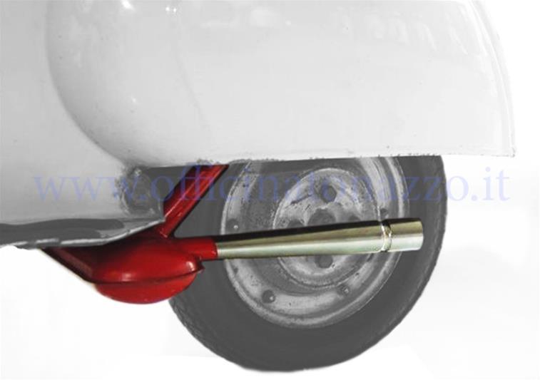 "- SERIE PRO ""Sport"" Replica muffler for Vespa 50 / N / L / R / S / Special / SR / SS"