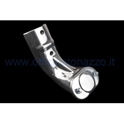 "Spare wheel holder for Vespa 90955800 VNA - VNB - 125 VBB - VBA, polished aluminum (150 ""solid rims)"