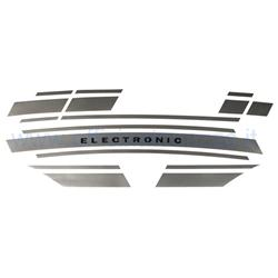 OTZ0055 - Vespa Elektronischer silberner Aufkleber Vespa ET3