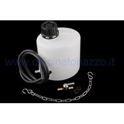 90828000 - BUZZETTI 1,5 liter auxiliary petrol tank for engine tests including 74cm tube and 2 adapters