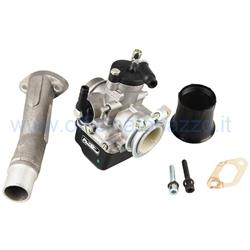 Pinasco PHBL 25292715 AD rigid valve suction kit with two-hole attachment for Vespa 24 - Primavera - ET50