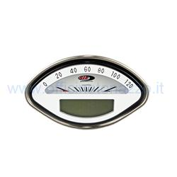 Digital speedometer and tachometer 50000710 with white background for Vespa GT - GL - GS2.0 - Sprint