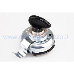 Interruptor con llave para Vespa GS160 2a serie desde el bastidor 36000 en adelante (10 contactos) (calidad económica)