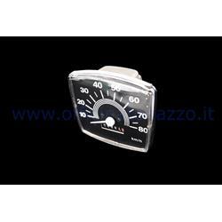 UNIPL17080KMP - Kilometerzähler 80 km / h ohne Piaggio-Logo für Vespa 50 Special