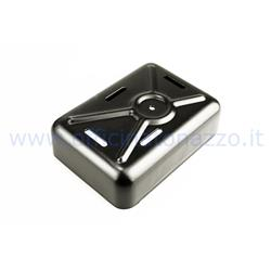 278VL295 - Rectifier cover for Vepa GS 150, metal, black color (internal size 10,4x7,5 cm)