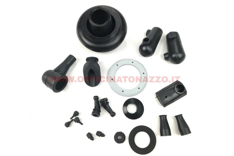 - Rubber parts kit for Vespa Primavera 1st series