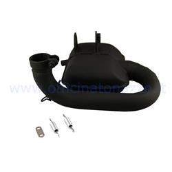 Silenciador Racing Exhaust Sip Road 3.0 negro para Vespa PX 125-150