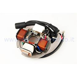 Electronic stator for Vespa 50 PK S (V5X2T) pk with arrows, 4 WIRES