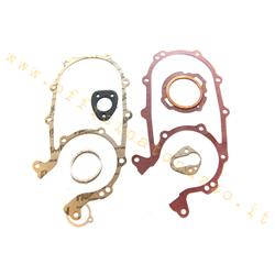 01501 - Set of engine gaskets for Vespa 125 low headlight '53> '57