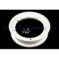 225000015 - Wheel rim 3.00 / 3.50-10 white for all Vespa models