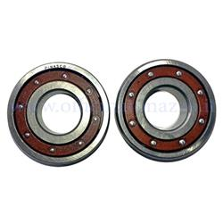 Pinasco ball bearing kit clutch side and flywheel side (25412902 Pcs) for Vespa 2 - Primavera - ET50