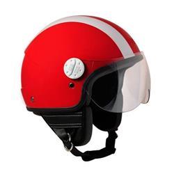 109G-DSA-85B - Helmet mod. MIAMI, metal red color, size S (55 Cm)