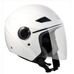 Helm mod. CARIBE, Weißmetall, Größe S (56 cm)