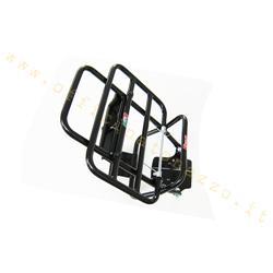 202 - Porte-bagages arrière Faco noir avec support de roue pour Vespa 50 - ET3