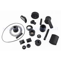 Kit de piezas de goma para Vespa PX - PE (142640520 piezas)