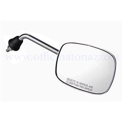 - Right chromed rectangular rear view mirror (bar size 17cm)