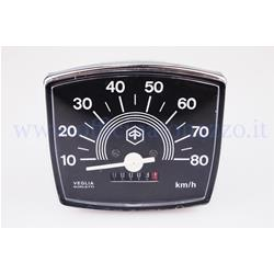 Speedometer 123424km / h for Vespa 80 Special (original Piaggio)