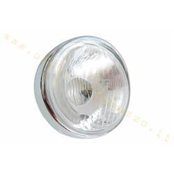 COD.103 - Feu avant en verre marqué SIEM pour Vespa VNB3-6 - 150 VBA - VBB - VGLA-B - GS