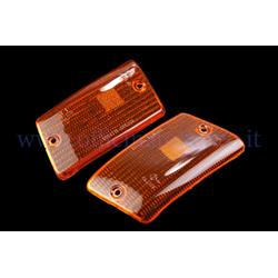 RP281 / CP - Orange rear direction indicator light bodies for Vespa PK XL-FL2 - Rush