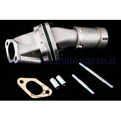 215.0203 - Polini lamellar intake manifold 19mm 2-hole rigid coupling for Vespa PK