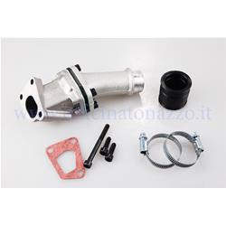 215.0233 - Polini lamellar intake manifold 24mm 3-hole connection with elastic coupling for Vespa PK