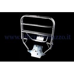 - Chromed rear rack for Vespa PK - ETS (plate attachment)