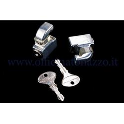Chromed anti-theft lock for Vespa GT - GTR - TS - Super - GL - Sprint - Sprint V. - 16812620GS - 160 SS - Rally - PX (180 Pcs)