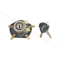 Conmutador con clave de marca Siem para Vespa PX - PE - ET3
