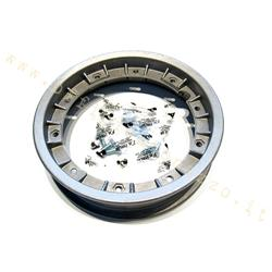 5515 - Satin alloy wheel rim 3,00 / 3.50-10