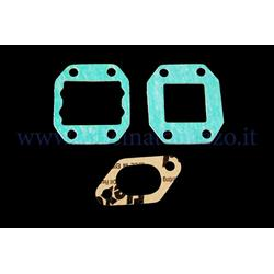 209.0162 - Polini reed manifold gaskets set for Vespa 50 - Primavera - ET3