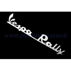 "5742-P - ""Vespa Rally"" rear plate in polished aluminum (hole distance 152.23mm)"