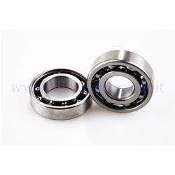 Polini bearing kit (25x47x12 - 20x47x14) for Polini crankshaft for Vespa 50 - Primavera - ET3