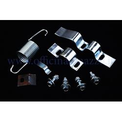 Ständerhalterungssatz mit Schrauben, Feder und elastischem Clip für Vespa PX