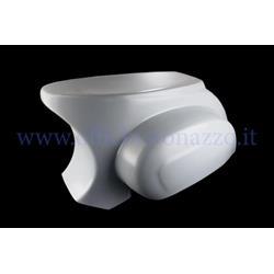 Carenado trasero de fibra de vidrio PLC-CORSE para Vespa 077 - Primavera - ET50 con Quattrini Competizione carter