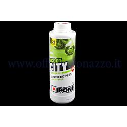 962F - Ipone Scoot City Oil Syntesis synthetic oil with strawberry perfume specific for separate mixer 1 lt cofection