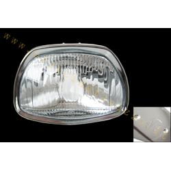 COD. 106 - SIEM marked glass front light for Vespa GL 180SS - GT - Sprint