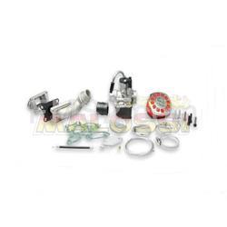Reed power supply kit to Malossi cylinder complete with Ø1610690 carburetor for 25cc cylinder for Vespa 135 - Primavera - ET50