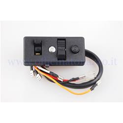 160752 - Light switch for Vespa PX P125 / 150X from 1977 to 1986 - P150S from 1978 without arrows, with engine stop button (Ref. Original piaggio 160752)