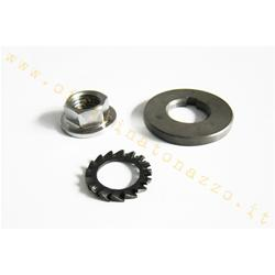 MINfld FL.196k / pz03 - Clutch nut DRT with spacer for Vespa PX125-150-200 - T5