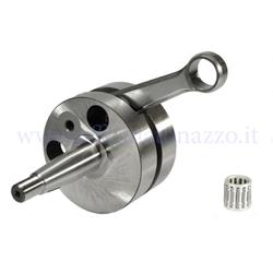 Crankshaft Quattrini Competizione 53mm stroke, 20 cone, 105mm connecting rod specific for C1 and C2 crankcase for Vespa 50 - Primavera - ET3