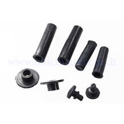 62049 - Kit of rubber parts for hoods with internal hooks for Vespa PX 125/150/200